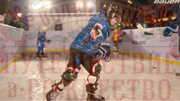 Школа хоккея Bauer на фестивале